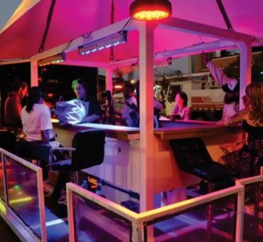 Bar nas Alturas: atração nas Olimpíadas