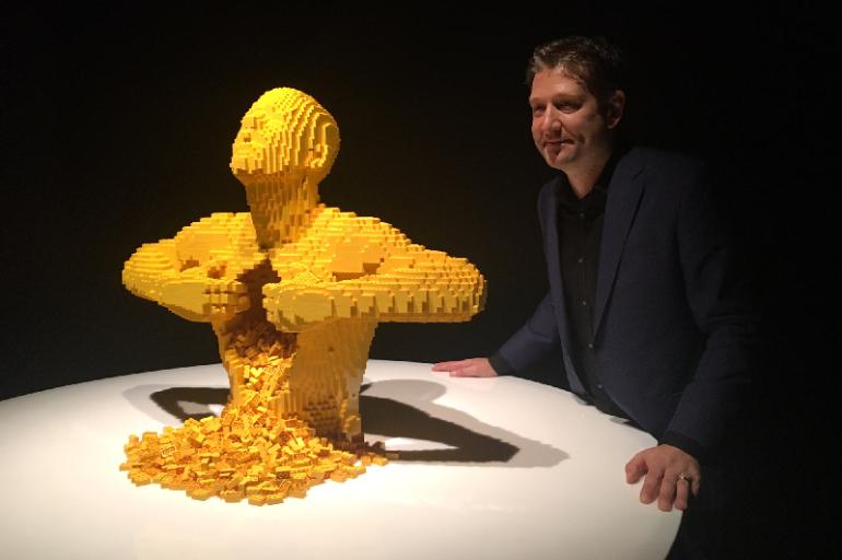The Art of the Brick: A maior exposição de arte com LEGO volta ao Rio.