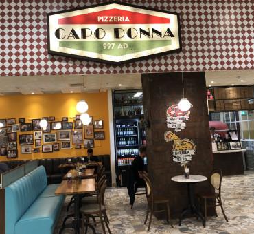 CAPO DONNA: Pizzaria inaugura no Rio de Janeiro